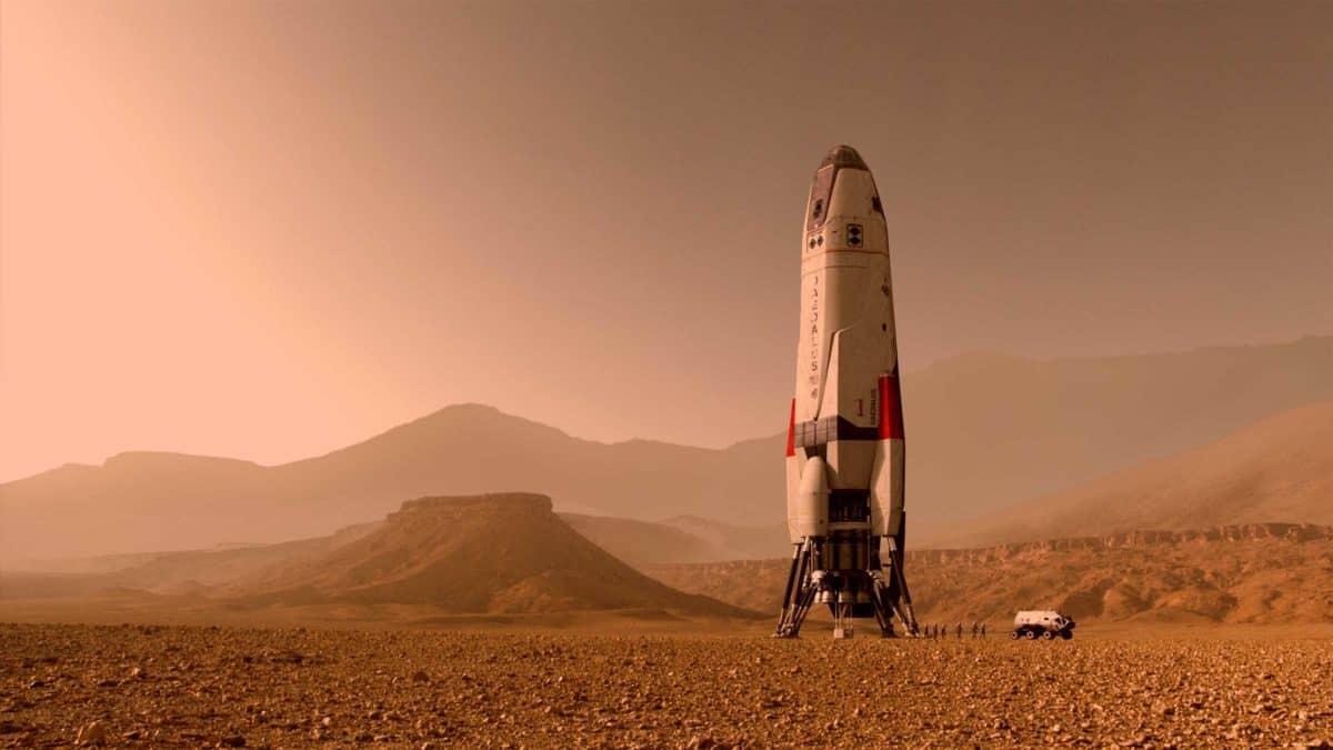 mars raketa